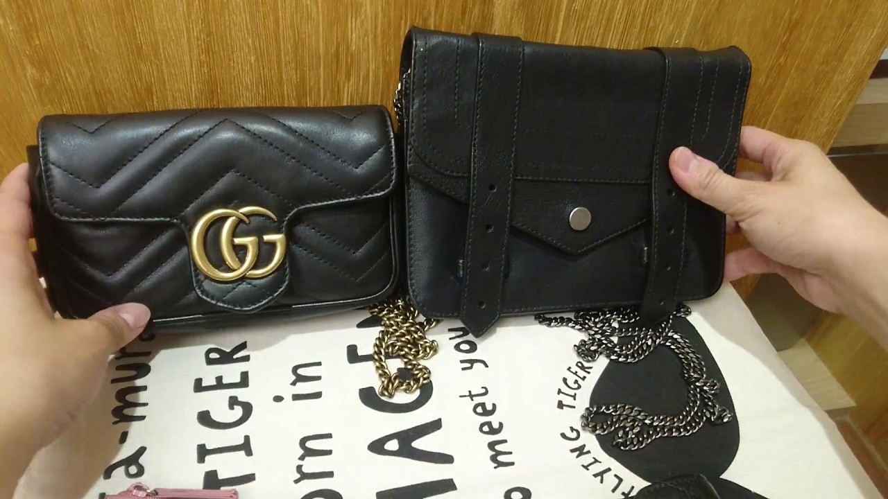 Mini Vs Woc Ps1 Woc V S Gucci Marmont Tiny Super Mini Youtube