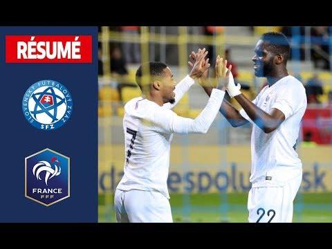 Slovaquie 3-5 France Espoirs, buts et réactions I FFF 2019