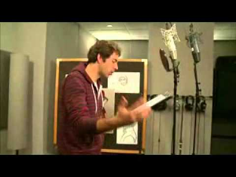 Zachary Levi - Tangled behind the scenes