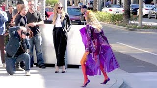 Heidi Klum And Her Fellow Models Heat Up The Streets Of Beverly Hills