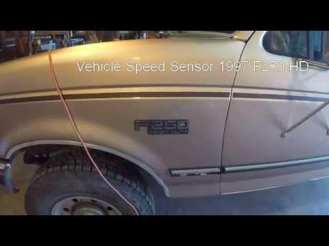 Transmission not shifting 1997 F250 HD (VSS issue)  YouTube