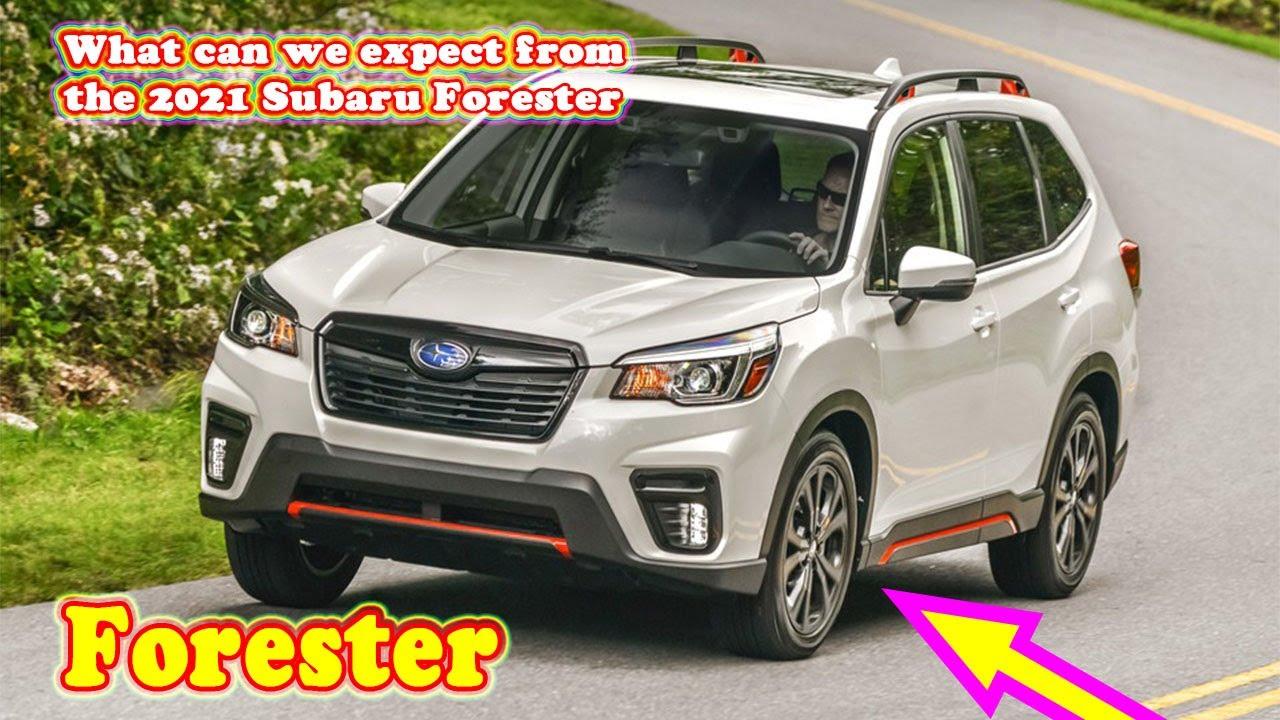 2021 Subaru Forester Spesification