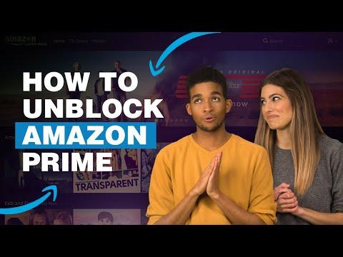 How To Unblock Amazon Prime