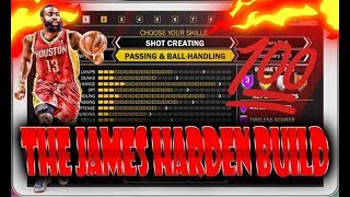 dc87b119ffb Nba 2k18 james harden driving and finishing shot creator this build ...