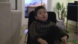 De tre bukkebruse fortalt af Oliver på 2 år