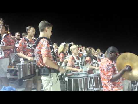Drumline plays Carp Fast, Faster, Out of Control! Awesome!