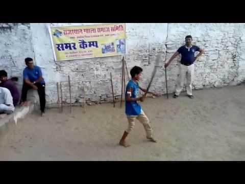 Talwar baji by little boys
