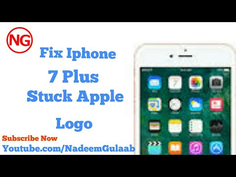 Fix Iphone 7 plus Stuck Itune Logo By Flash tool