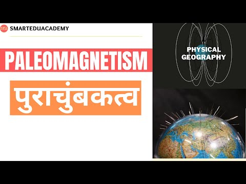 Paleomagnetism dating is based on what information