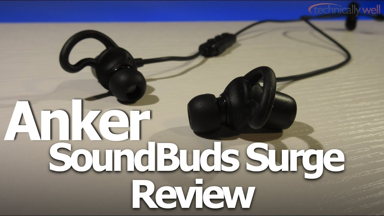 Anker SoundBuds Surge Review 2017 - YouTube 162d834135b2f