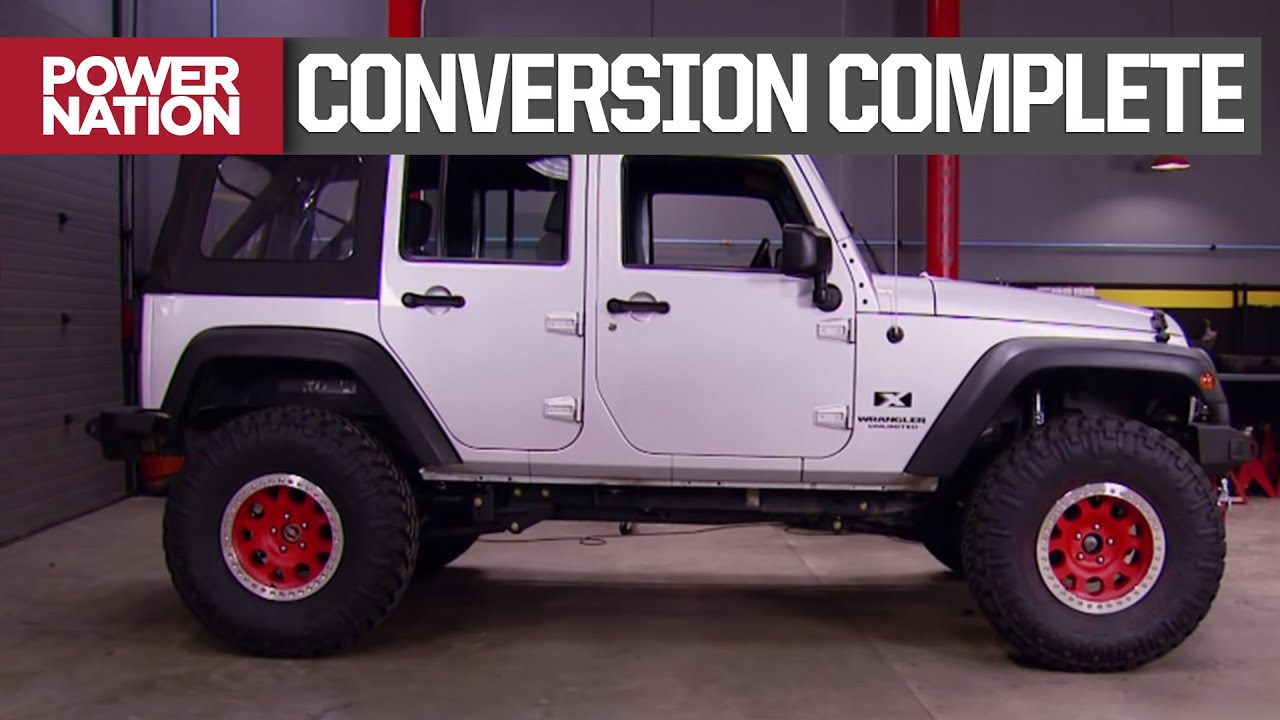 Completing the Wrangler 4WD Conversion with a New Axle and Driveshaft - Truck Tech S2, E10