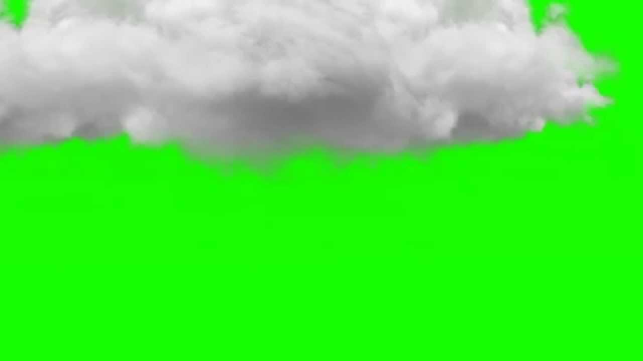cloud animation green screen royalty free footage