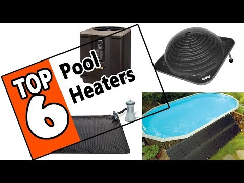 🌻 Best 6 Pool Heater Systems 2019 - Top Rated Gas, Soler Or Electric Swimming Pool Heater Models