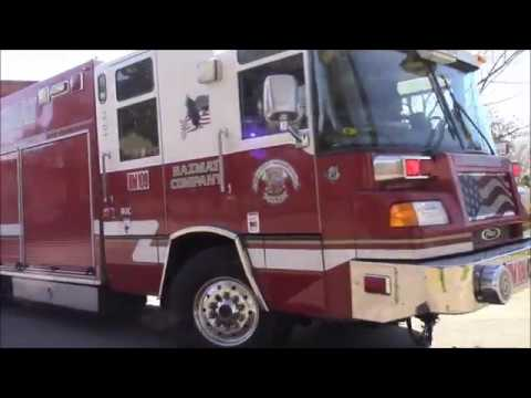 Dispatch Tones - Sacramento Metro Fire District Hazmat 109 Responding Code 3 From Station