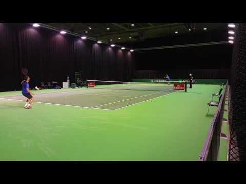 20160208 111219 ABN AMRO Tennis Rotterdam training
