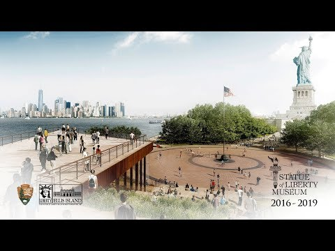 Official Statue of Liberty Museum Construction Time-Lapse