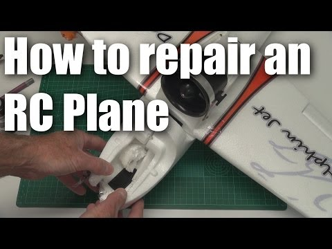 Repairing an EPO RC Plane