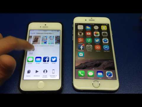 How to Use AirDrop on the iPhone in iOS 8
