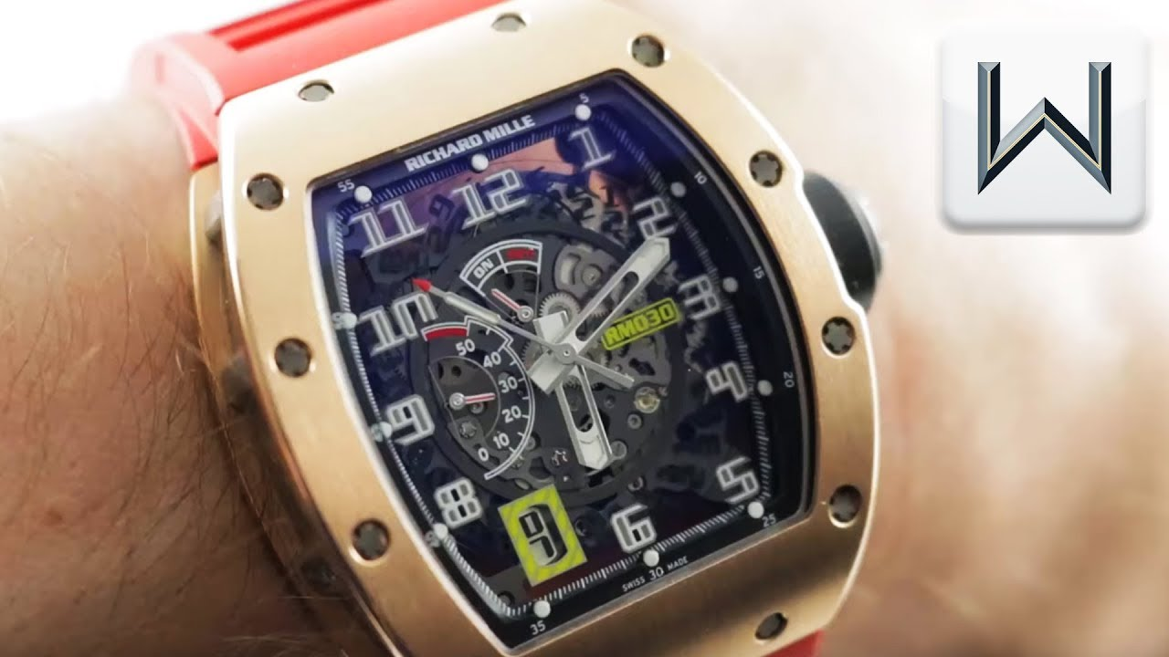 Richard Mille RM 030 (RM030ANRG) Luxury Watch Review - YouTube
