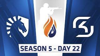 ECS Season 5 Day 22 Team Liquid vs SK Gaming - Inferno