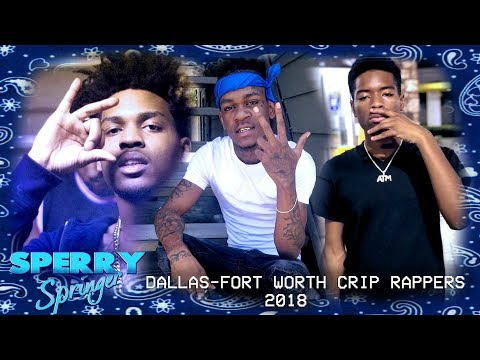 CRIP RAPPERS FROM DALLAS-FORT WORTH TEXAS 2018