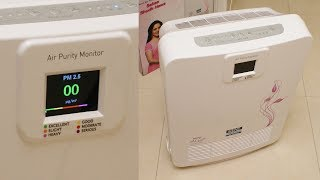 KENT Alps Plus Air Purifier review - comes with Real Time Air Purity Monitor (PM2.5)