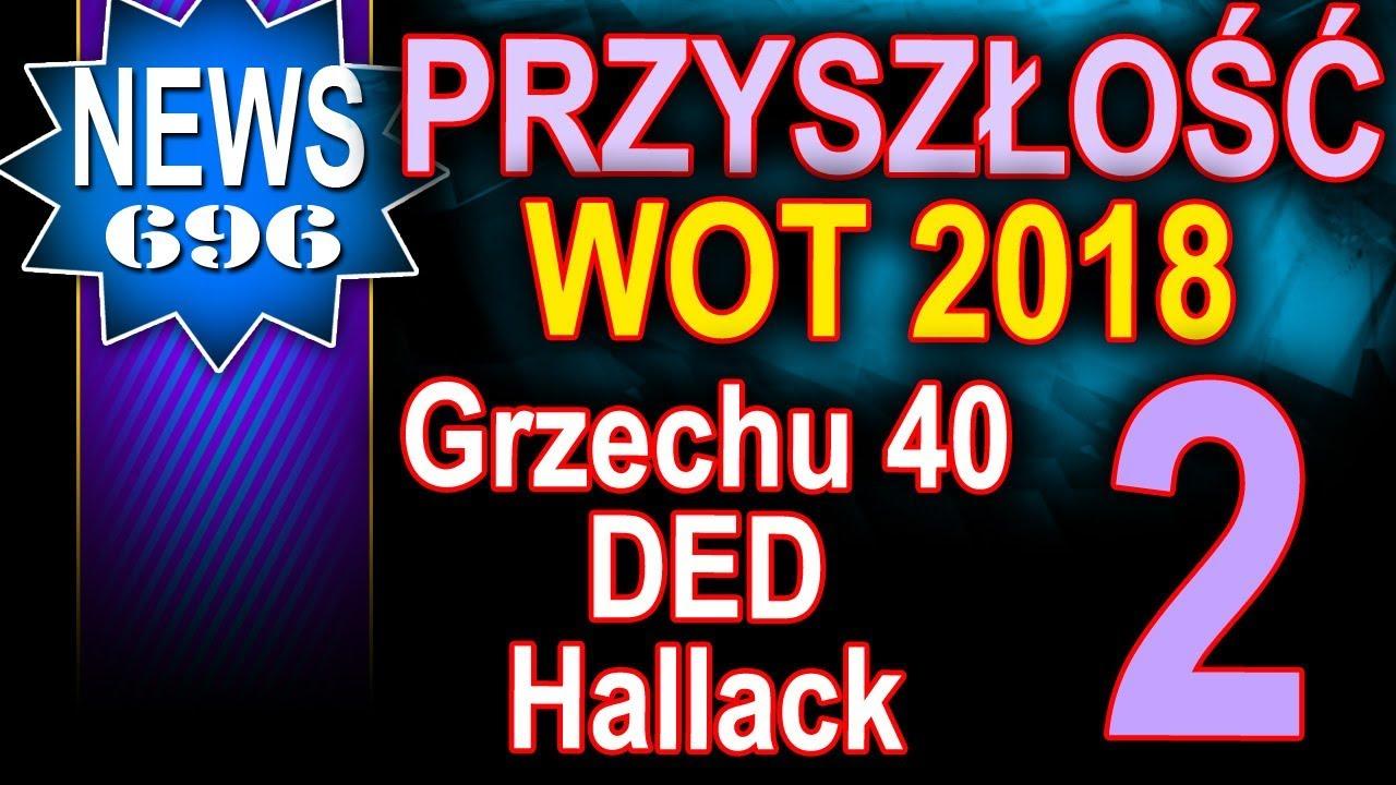 Przyszłość World of Tanks w 2018 roku – pogadanka – Grzechu 40, DED, Hallack cz. 2