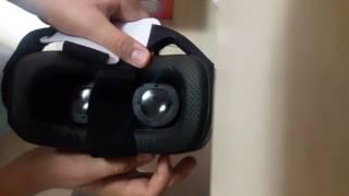 VR BOX 3.00 sanal Gerceklik gözlügü kutu açılımı