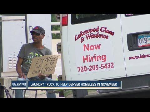 Laundry truck to help Denver homeless in November