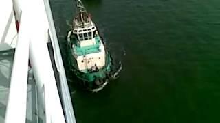 Intrarea in portul Lagos - Nigeria