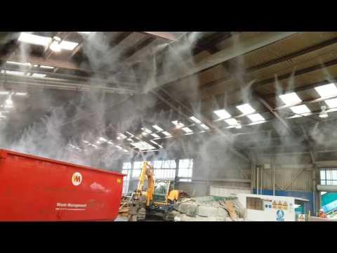 biOx Overhead Fogging Line - C&D Facility