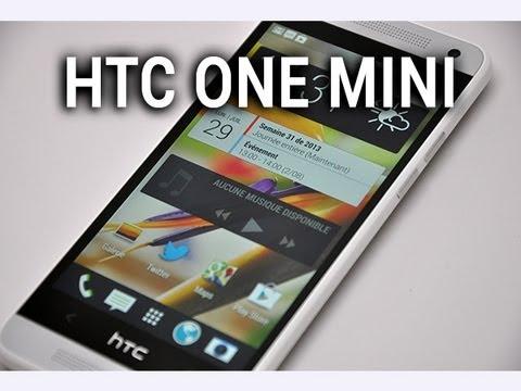 HTC One Mini, prise en main - par Test-Mobile.fr