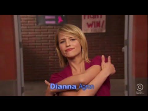 Dianna Agron funny