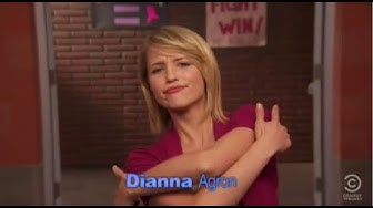 Dianna Agron funny moments
