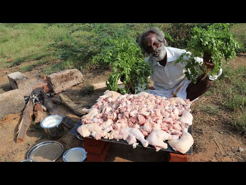 SPICY!!! YOGURT CHICKEN Prepared by My Daddy Arumugam / Village food factory