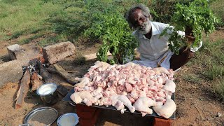 SPICY!!! YOGURT CHICKEN Prepared by My Daddy Arumugam / Village food factory