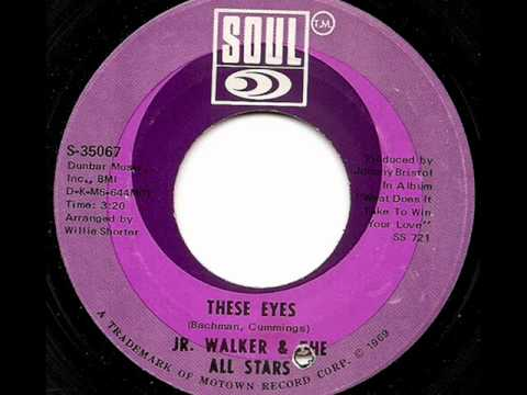 JR WALKER & THE ALL STARS  THESE EYES SOUL