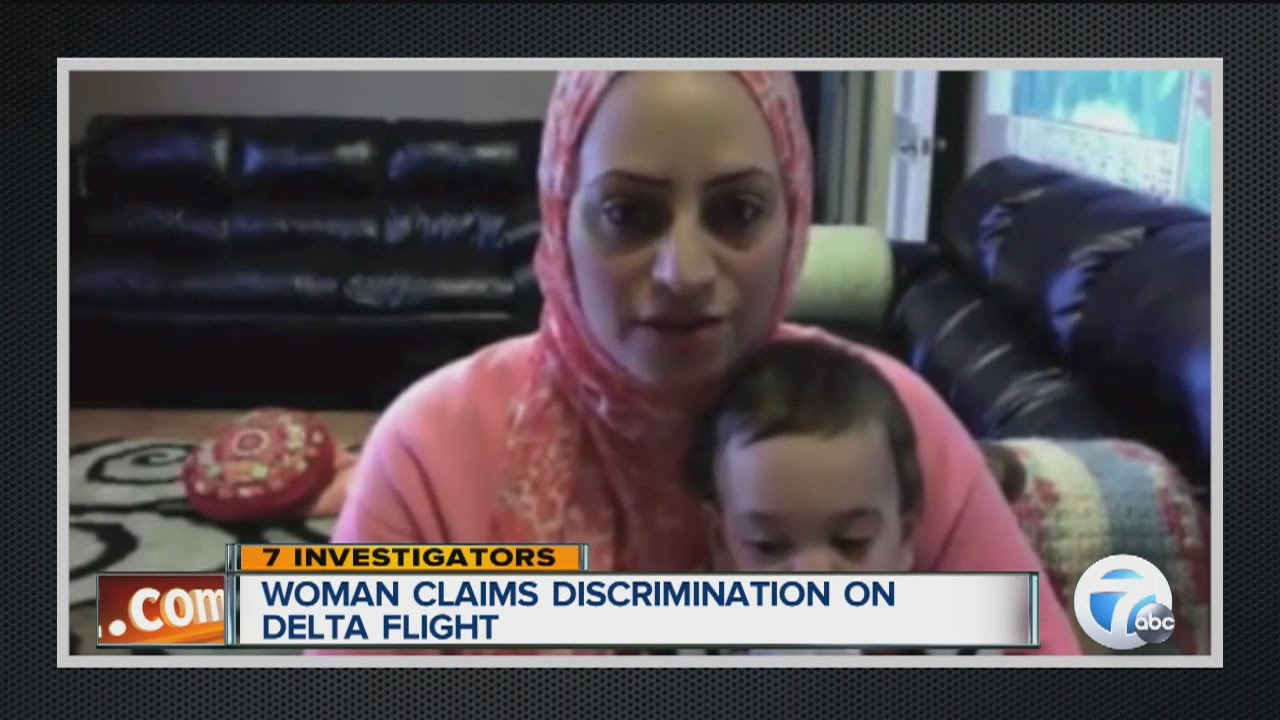 Muslim Woman Claims Discrimination On Delta Flight - Youtube-9464