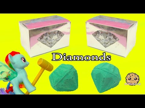 Surprise Dig It Digging For 2 Diamonds With My Little Pony Rarity - Cookie Swirl C Video