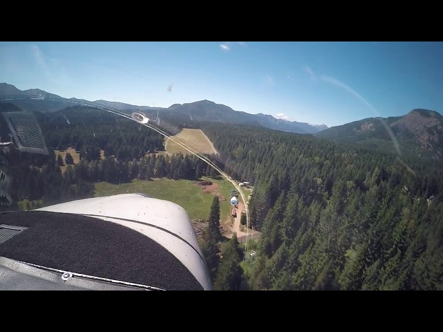 Flight from Renton, WA, to Easton State in a Cessna 182