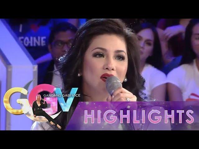 GGV: Regine Velasquez-Alcasid plays 'Trulala or Haka-Haka'
