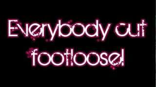 Glee - Footloose (Lyrics) HD