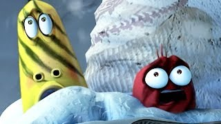larva - snowball fight  christmas cartoon  cartoons for children  larva 2017  larva official