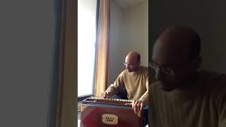 Yaad aah rahi hai {Love Story - 1981} played on solo harmonium