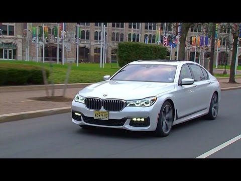 2016 BMW 750i xDrive - TestDriveNow.com Review by Auto Critic Steve Hammes