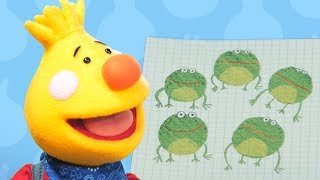 Five Little Speckled Frogs | Sing Along With Tobee | Kids Songs