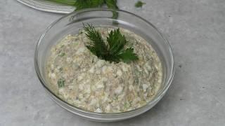 Форшмак! Походный салат! Салат с рыбой.