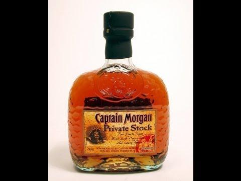 Captain Morgan Private Stock. Rum Review
