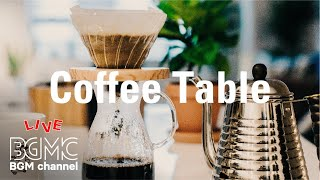 Winter Coffee Table Jazz - Soothing Cafe Music Jazz & Bossa Nova Instrumental for Relax Evening