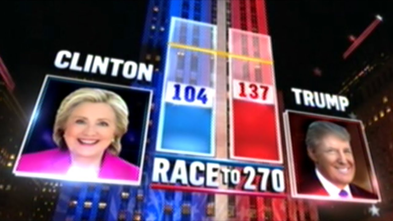 Donald Trump Pulls Ahead In The Electoral Vote Count!